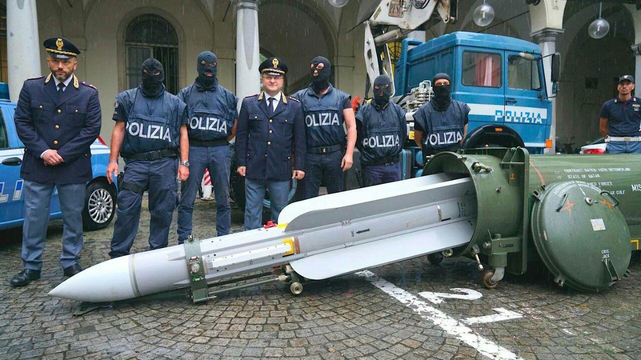 <p>Фото © Полиция Италии</p>