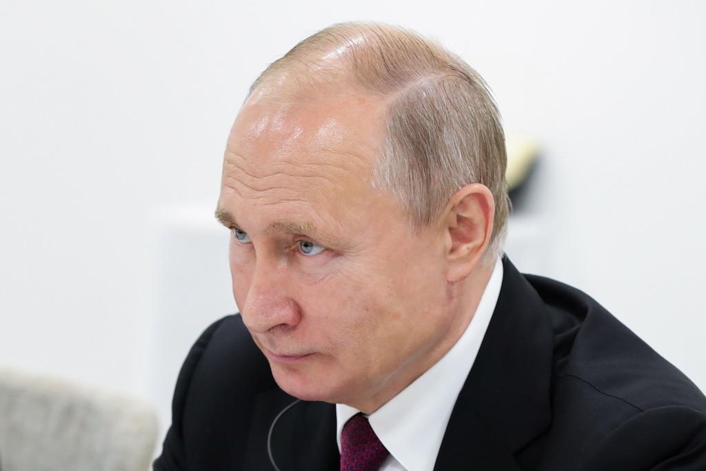 <p>Владимир Путин. Фото © Михаил Климентьев / ТАСС</p>