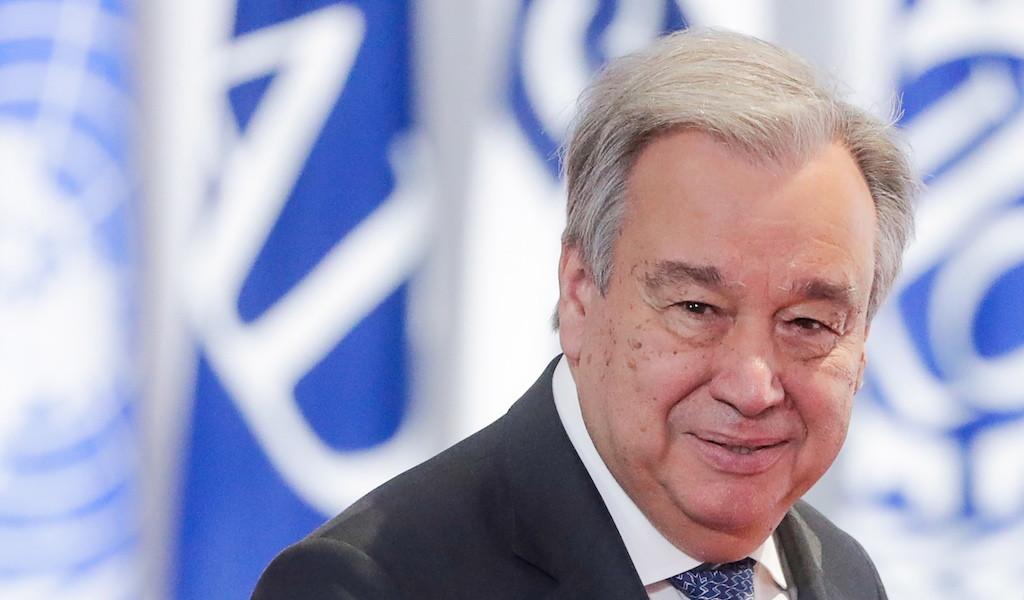 <p>Генеральный секретарь Организации Объединённых Наций (ООН) Антониу Гутерриш. Фото © Михаил Метцель / ТАСС</p>