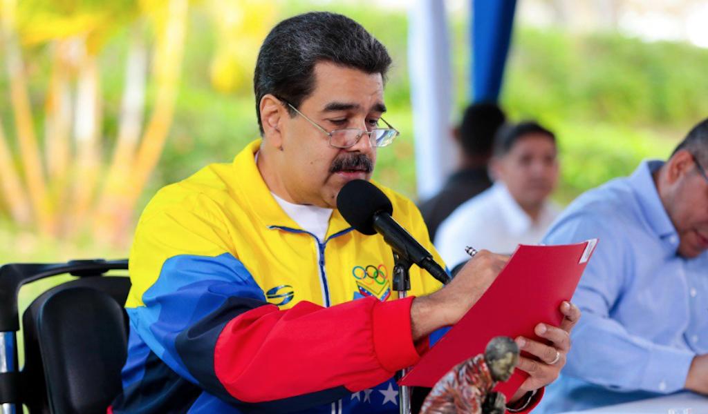"<p>Фото © Twitter / <a href=""https://twitter.com/NicolasMaduro/status/1157110614508167168"" target=""_self"">Nicolás Maduro</a></p>"
