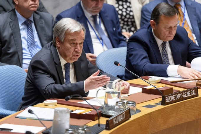 """<p>Фото © Twitter / <a href=""""https://twitter.com/antonioguterres"""" target=""""_self""""><strong>António Guterres</strong></a></p>"""