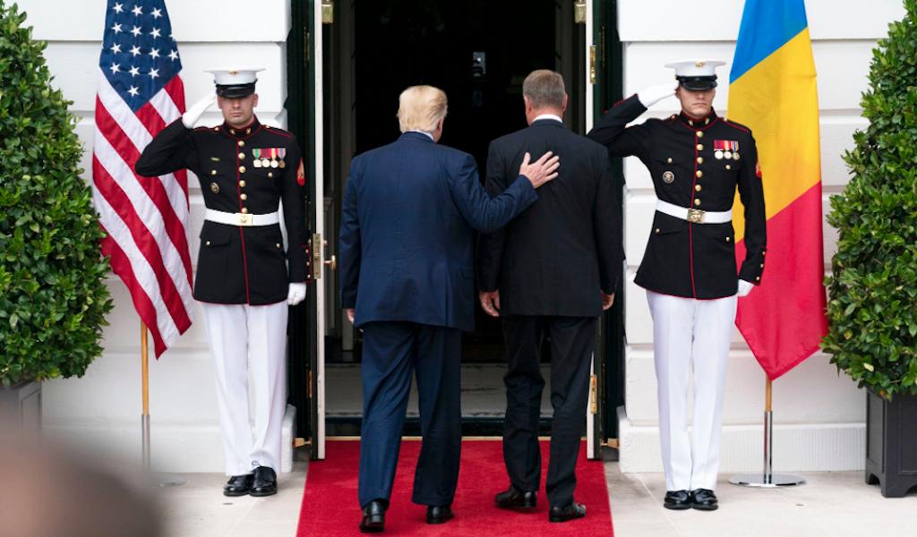 "<p>&nbsp;Встреча президента США Дональда Трампа и лидера Румынии Клауса Йоханниса в Белом доме. Фото © Twitter / <a href=""https://twitter.com/WhiteHouse/status/1163960410246176771"" target=""_self"">The White House</a></p>"