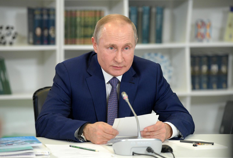 "<p>Владимир Путин. Фото © Twitter / <a href=""https://twitter.com/KremlinRussia"" target=""_self"">Президент России</a></p>"