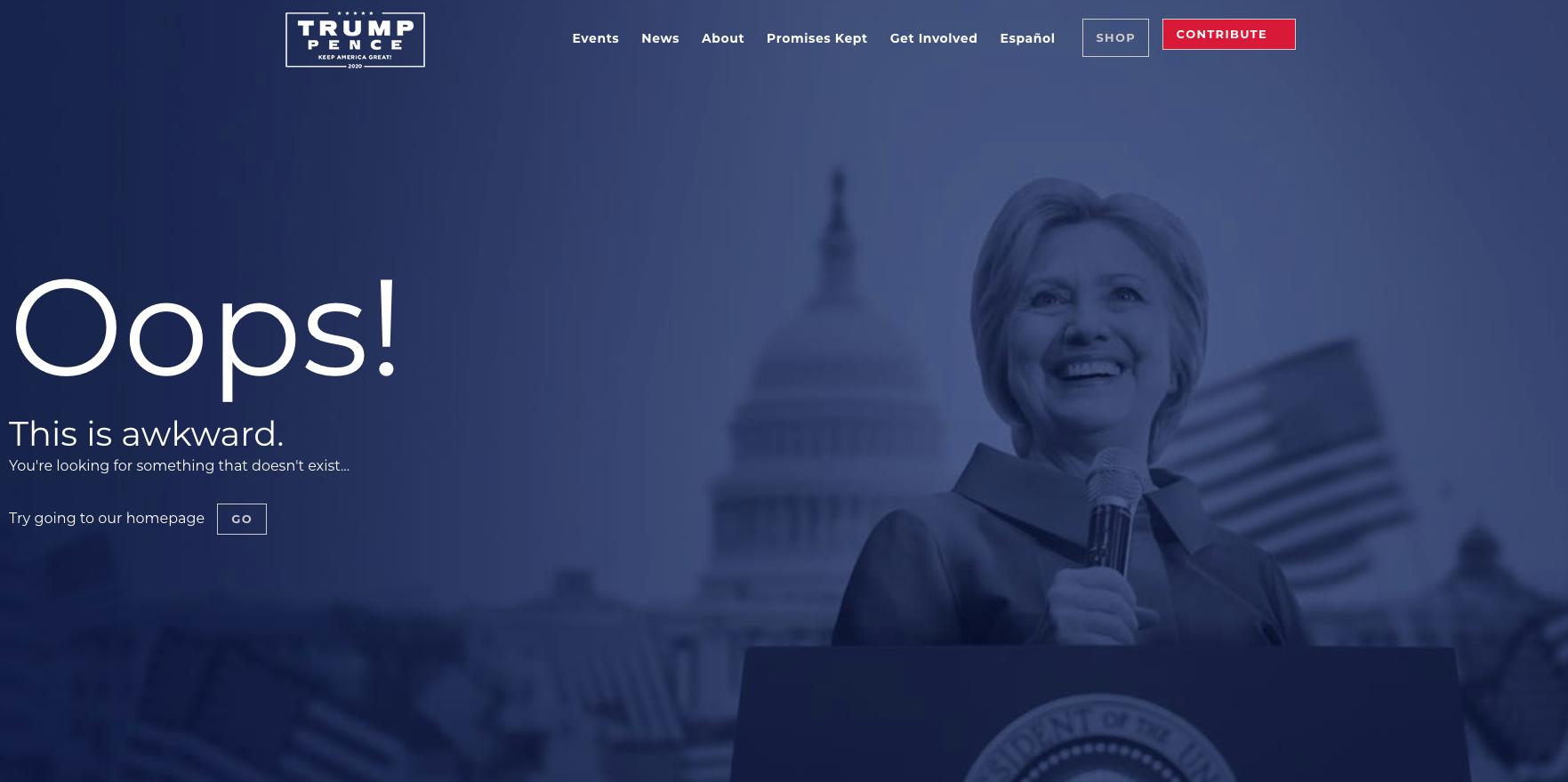 """<p>Скриншот © <a href=""""https://www.donaldjtrump.com/"""" target=""""_self"""">donaldjtrump.com</a></p>"""