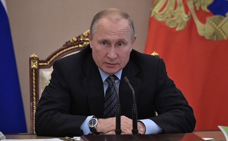 <p>Владимир Путин. Фото © Пресс-служба президента РФ</p>