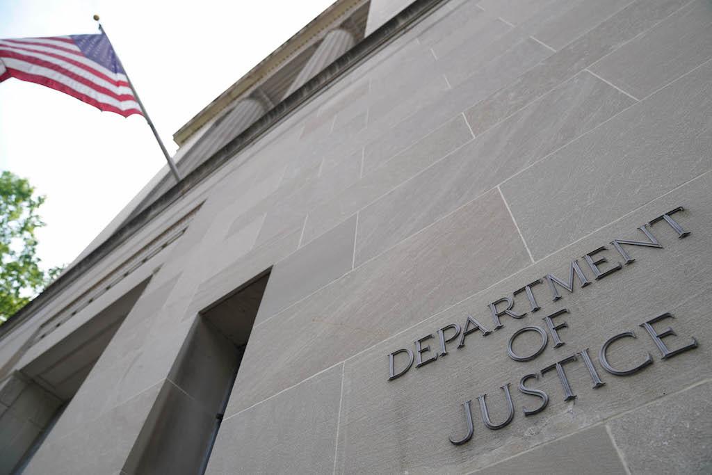 <p>Министерство юстиции США. Фото © ТАСС / Zuma</p>