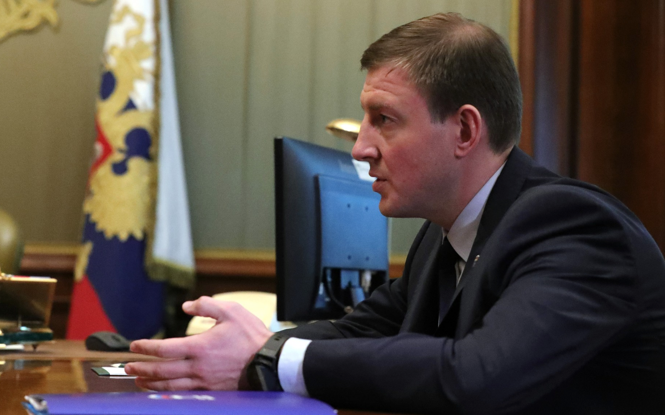 <p>Андрей Турчак. Фото © Сайт президента РФ</p>