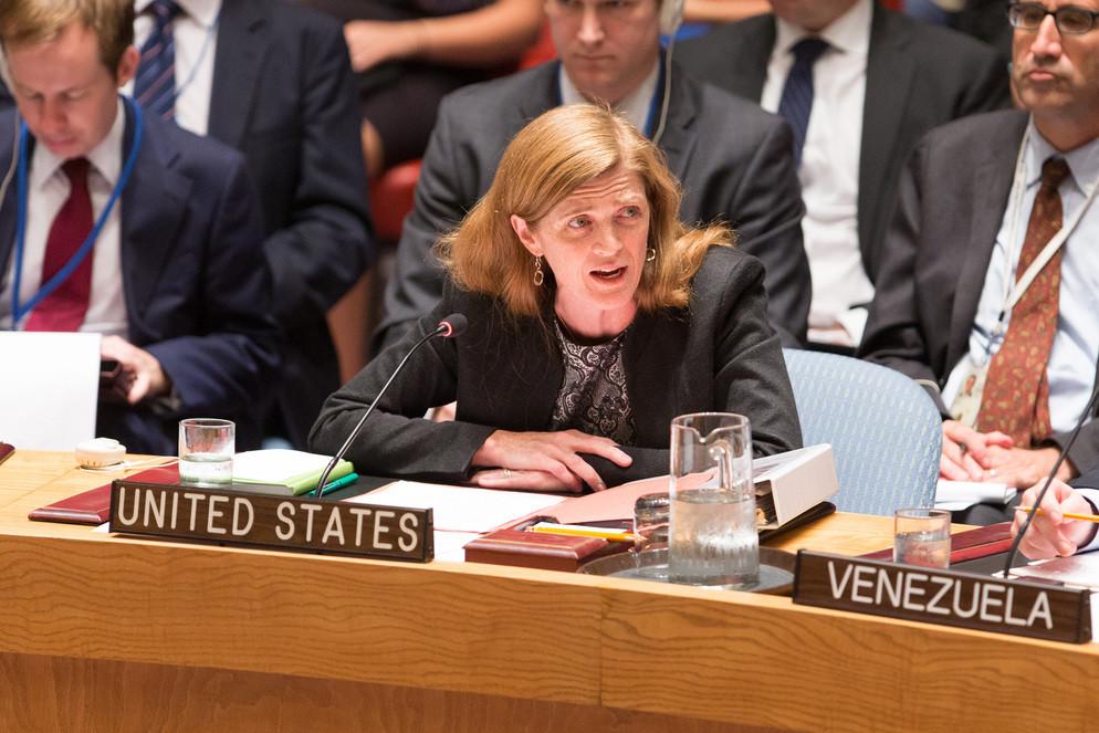 <p>Экс-постпред США при ООН Саманта Пауэр. Фото © ТАСС / Li Muzi / Xinhua via ZUMA Wire</p>