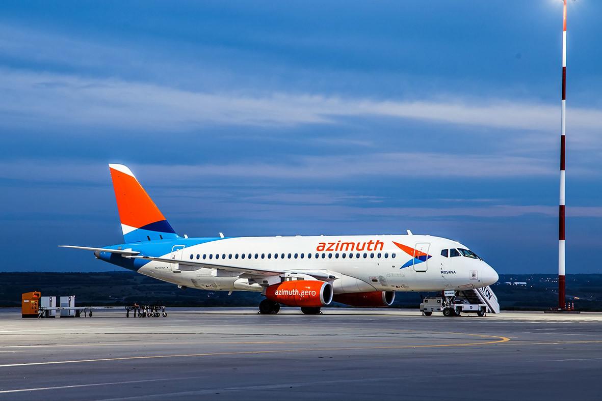 "<p>Фото © VK / <a href=""https://vk.com/azimuthairlines"" target=""_self"">Авиакомпания ""АЗИМУТ""   ""AZIMUTH"" airlines</a></p>"