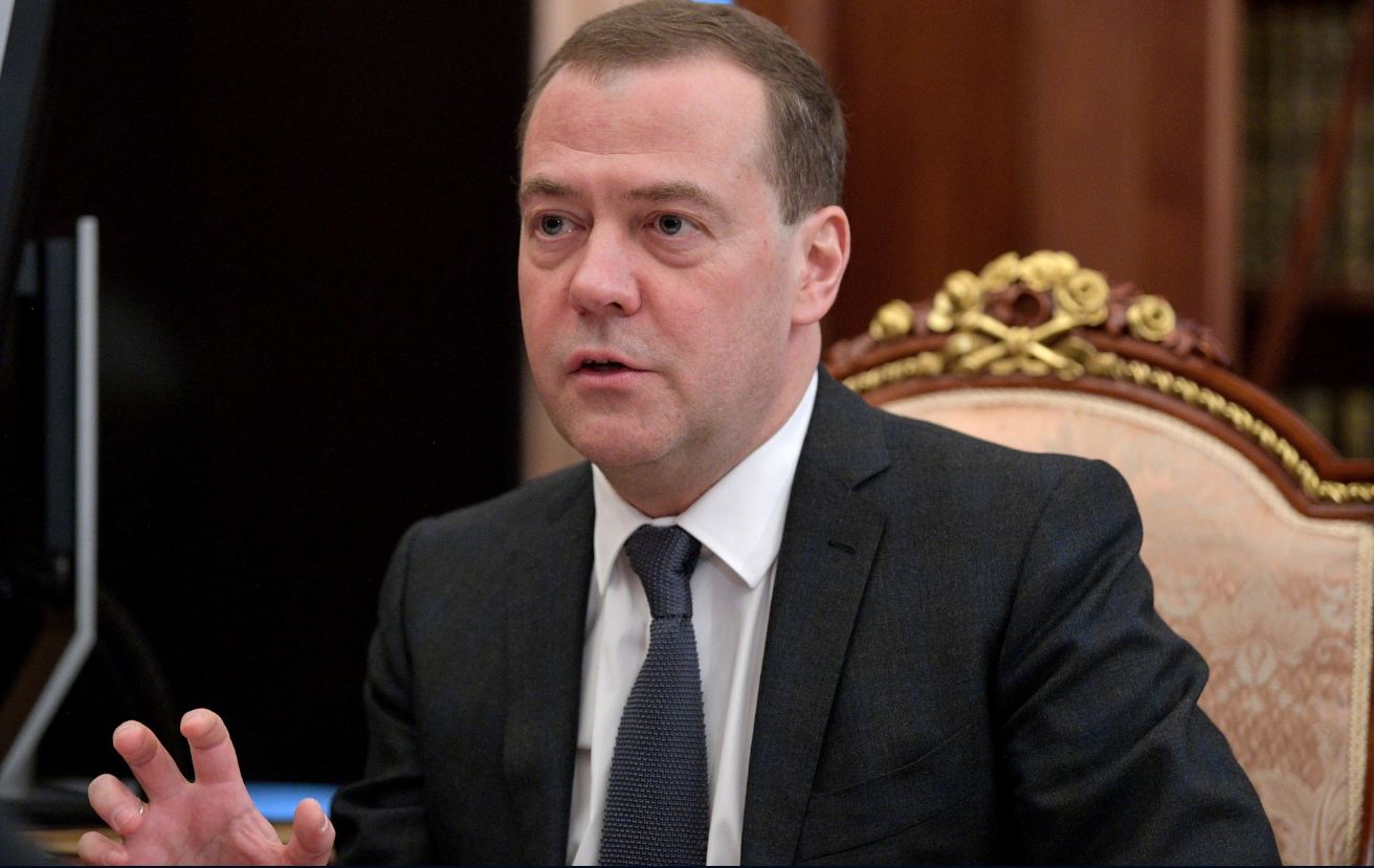 <p>Дмитрий Медведев. Фото © Сайт Кремля</p>