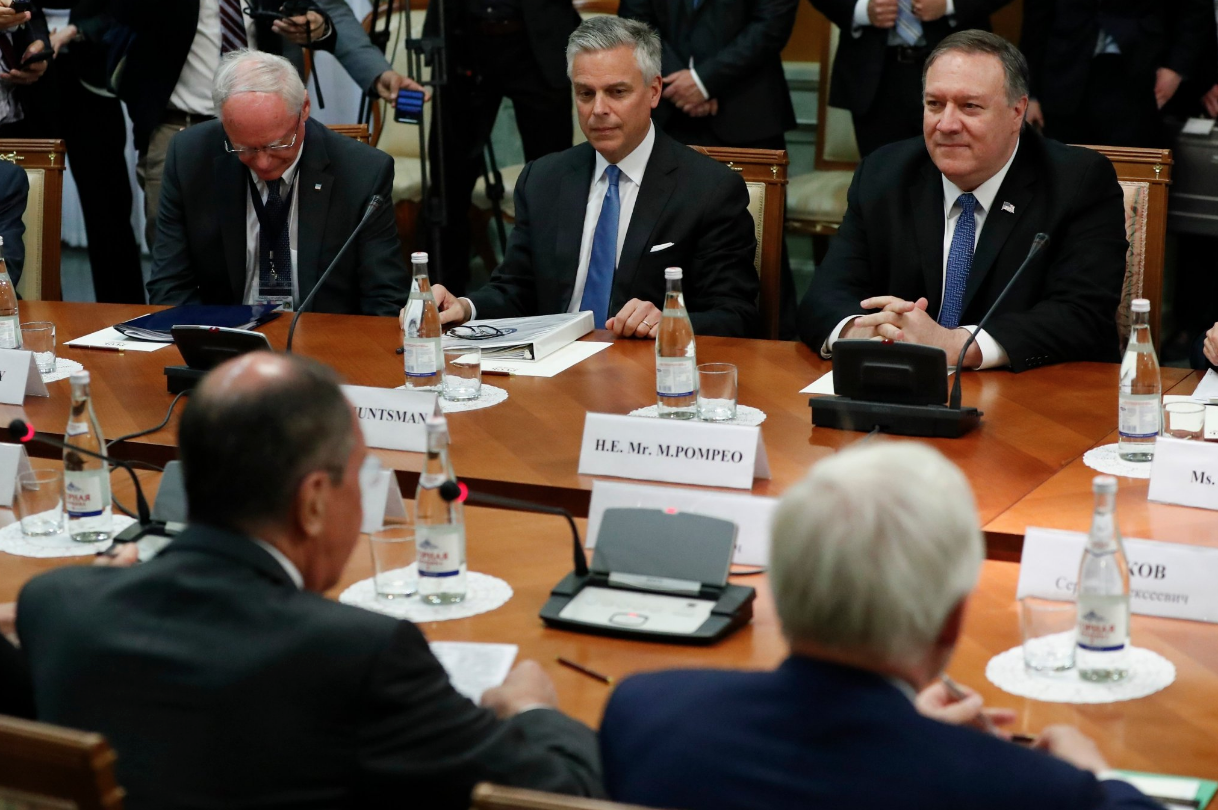 """<p>Фото © Twitter / <a href=""""https://twitter.com/SecPompeo"""" target=""""_self""""><strong><ins>Secretary Pompeo</ins></strong></a></p>"""