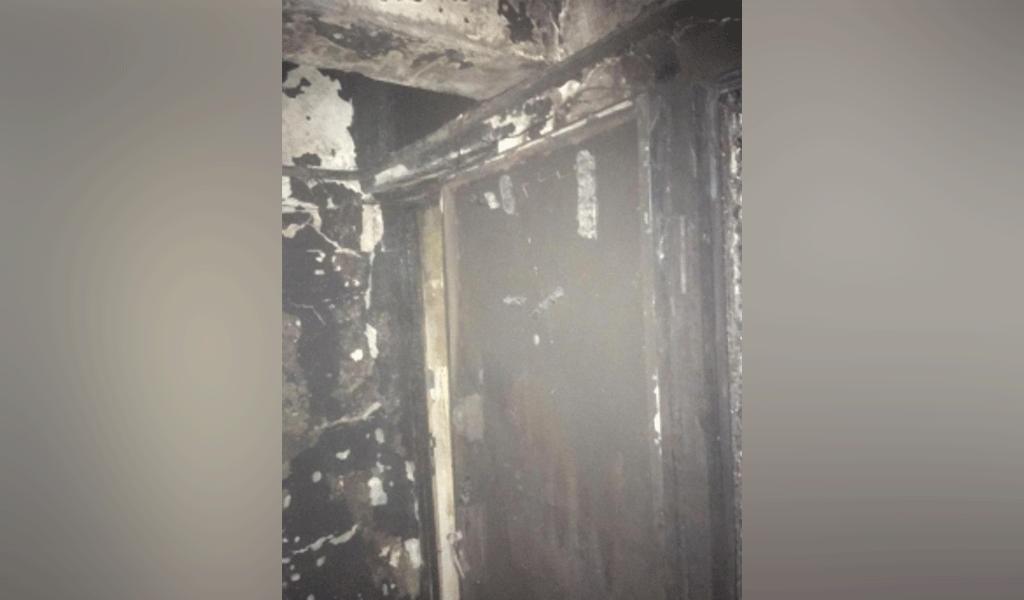 <p>Последствия пожара в жилом доме в Подмосковье. Фото © ГУ МЧС РФ по Московской области</p>