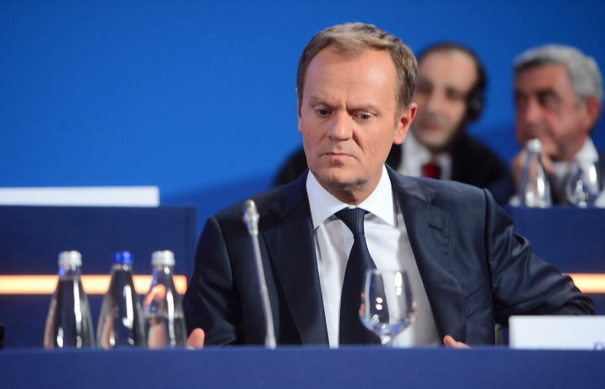 """<p>Дональд Туск. Фото © flickr / <a href=""""https://www.flickr.com/photos/eppofficial/9304382979/"""" target=""""_self""""><strong>European People's Party</strong></a></p>"""