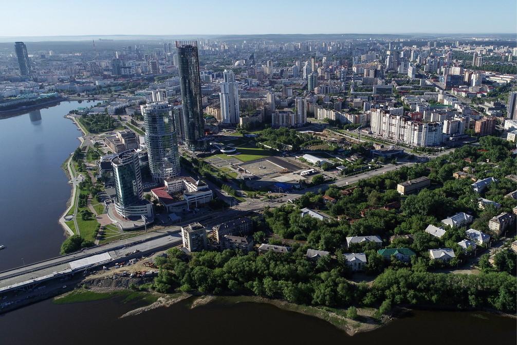 <p>Предполагаемые площадки для строительства собора Святой Екатерины в Екатеринбурге. Фото © ТАСС / Донат Сорокин</p>