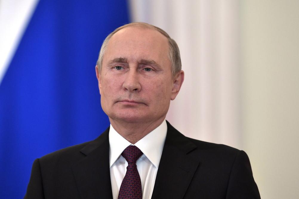 <p>Президент России Владимир Путин. Фото © ТАСС / Пресс-служба президента РФ / Алексей Никольский</p>