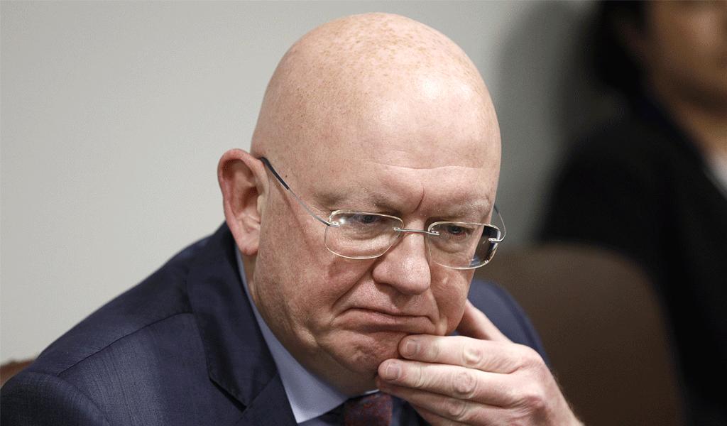 <p>Василий Небензя. Фото © Александр Щербак / ТАСС</p>