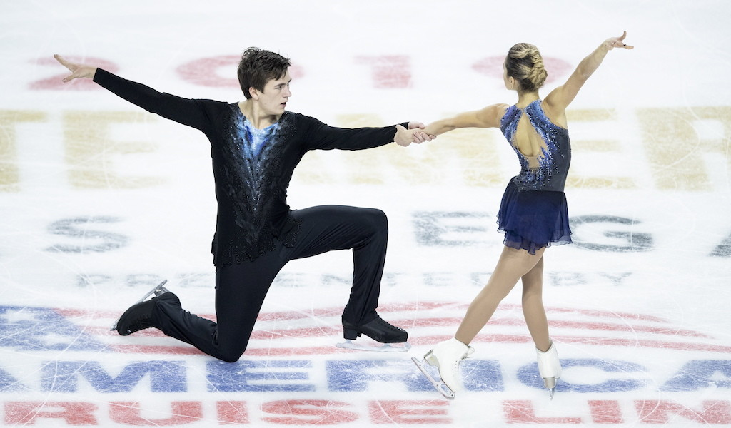 <p>Дарья Павлюченко и Денис Ходыкин. Фото ©  EPA / ETIENNE LAURENT / ТАСС</p>