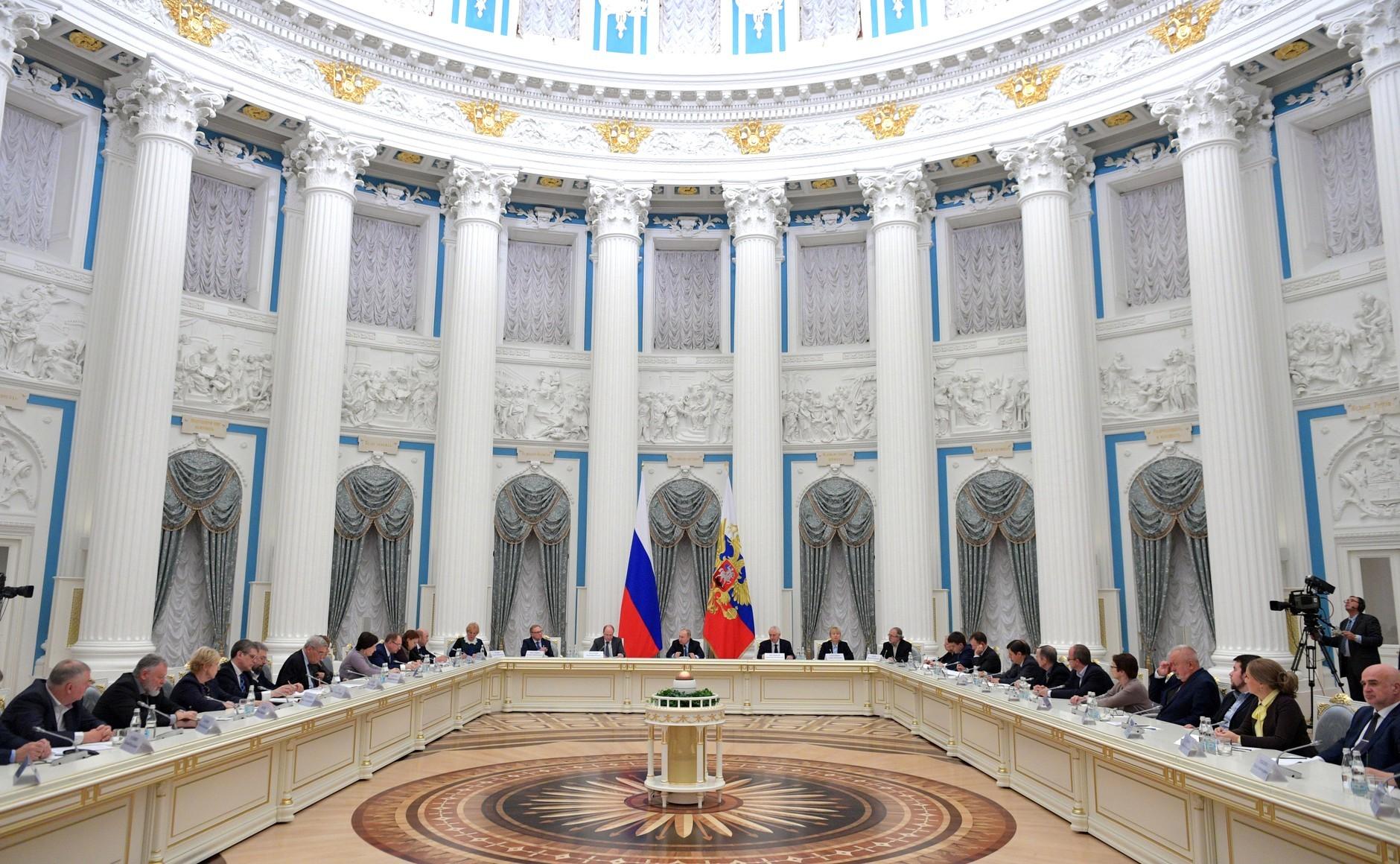 <p>Заседание Совета порусскому языку. Фото © Kremlin</p>
