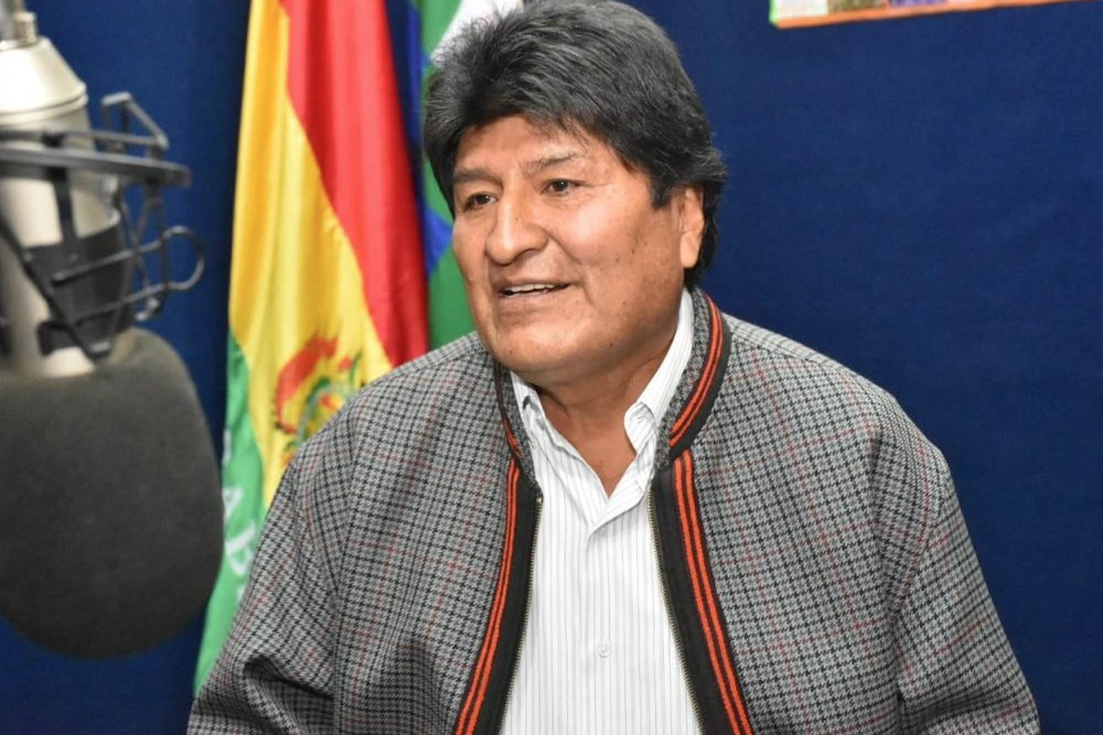 "<p>Фото © Twitter / <a href=""https://twitter.com/evoespueblo/media"" target=""_self"">Evo Morales Ayma</a></p>"