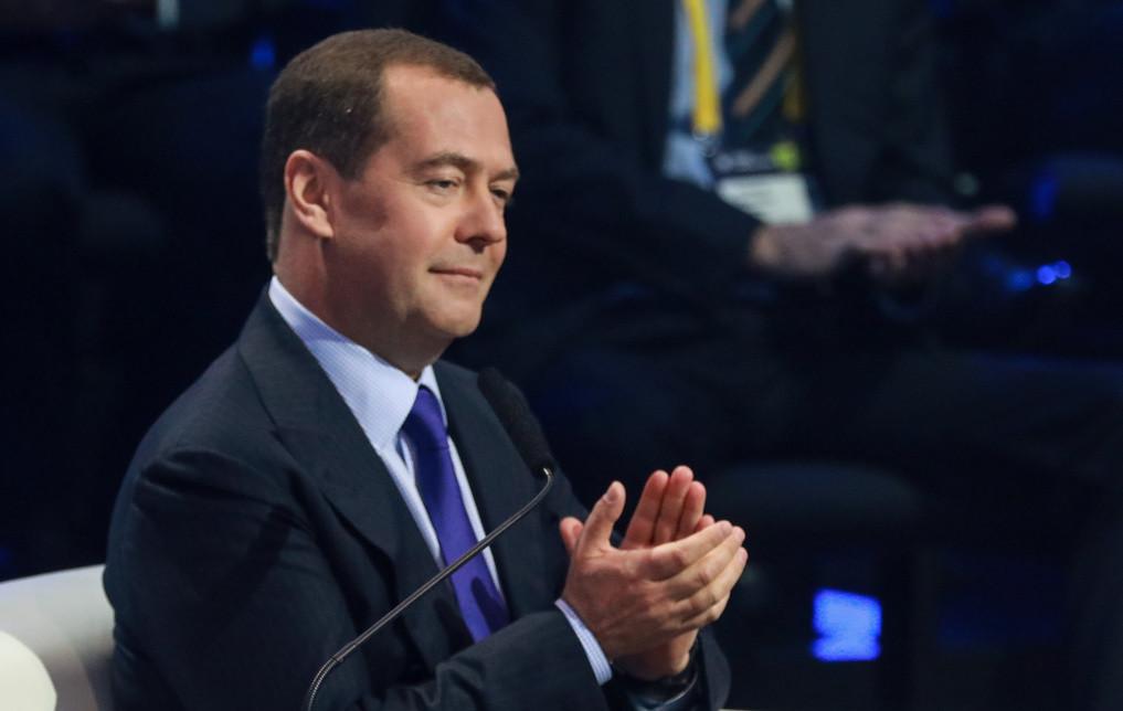 <p>Премьер-министр РФ Дмитрий Медведев. Фото © ТАСС / Сергей Шинов</p>