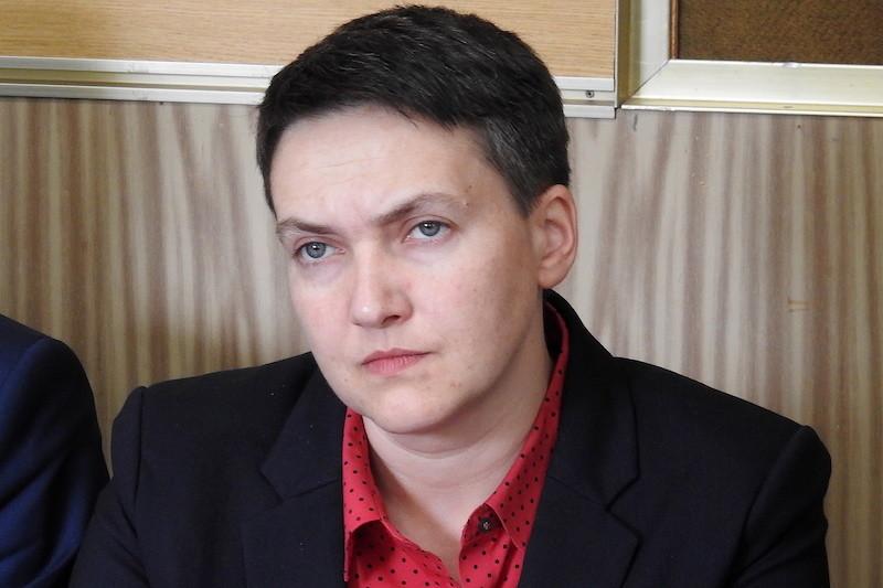 <p>Надежда Савченко. Фото © ТАСС / Иволгин Андрей</p>