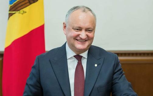 <p>Игорь Додон. Фото © Пресс-служба президента Молдавии</p>