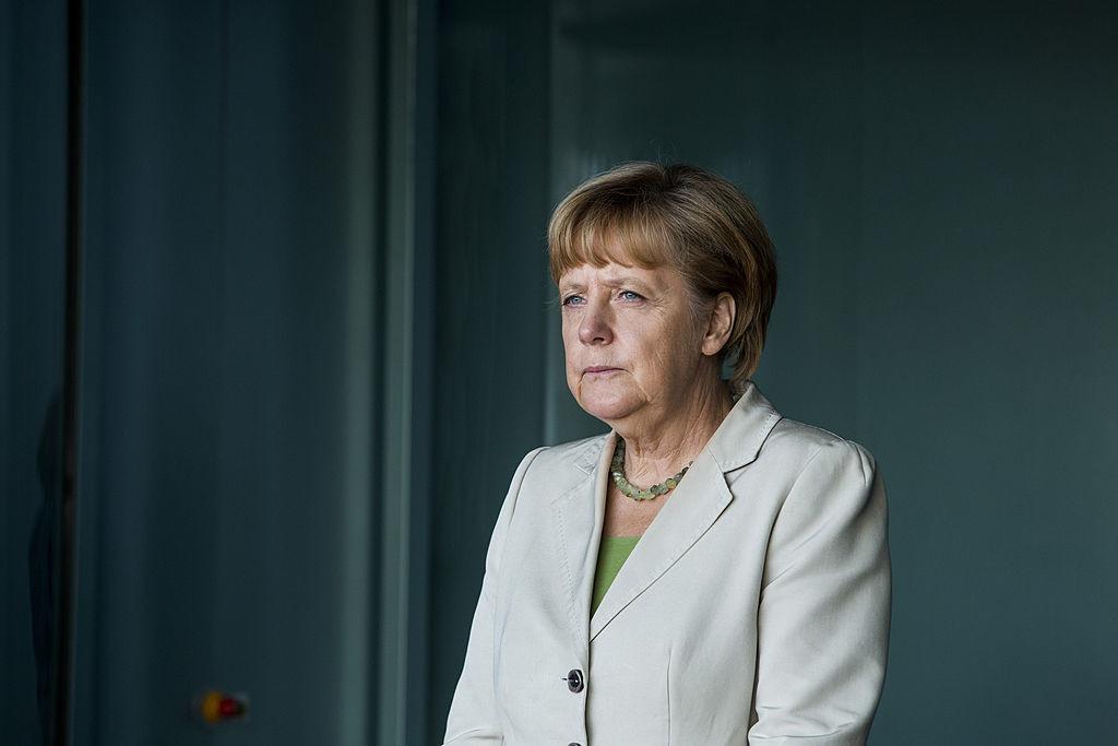 <p>Канцлер ФРГ Ангела Меркель. Фото © Jochen Zick-Pool / Getty Images</p>