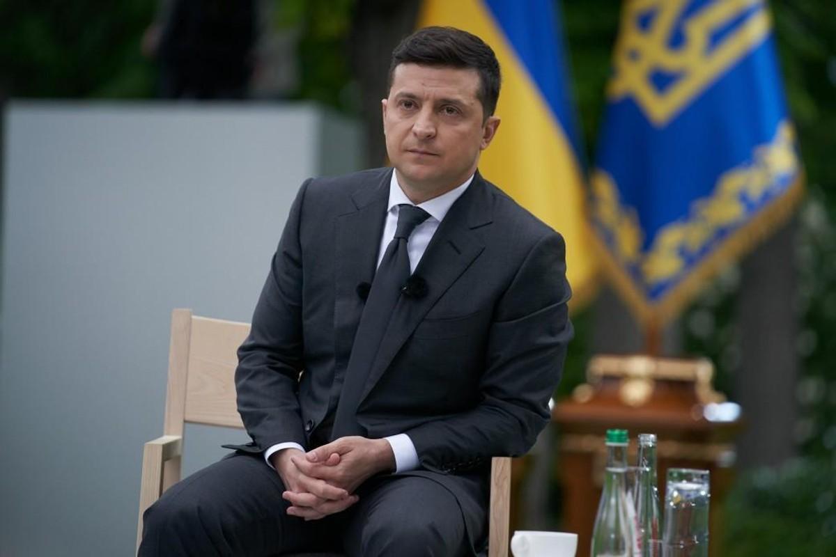 "<p>Владимир Зеленский. Фото © <a href=""https://www.president.gov.ua/photos/thumbs/pres-konferenciya-prezidenta-ukrayini-3437"" target=""_blank"" rel=""noopener noreferrer"">Офис президента Украины</a></p>"