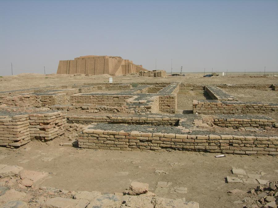 Руины древнего города Ур. Фото © Wikipedia
