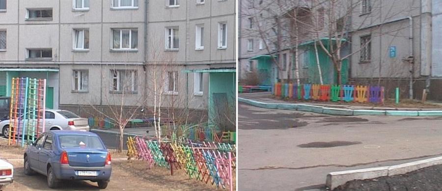 Дом, где прописана Юлия Букрей и возле которого был убит её отец. Фото © Семёрка