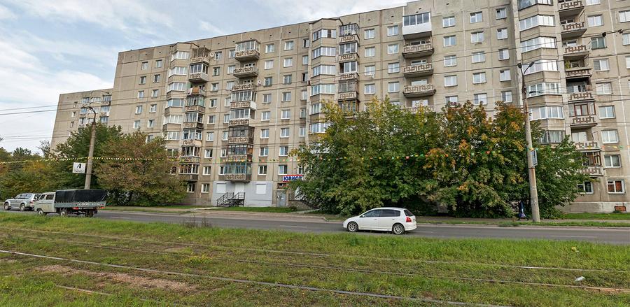 Дом, где официально по декларации живёт Наталия Ледяева. Фото © Яндекс.Карты