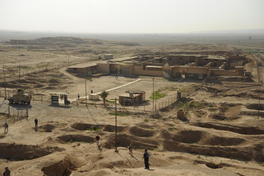 Руины древнего города Нимруд (Кальху). Фото © Wikipedia