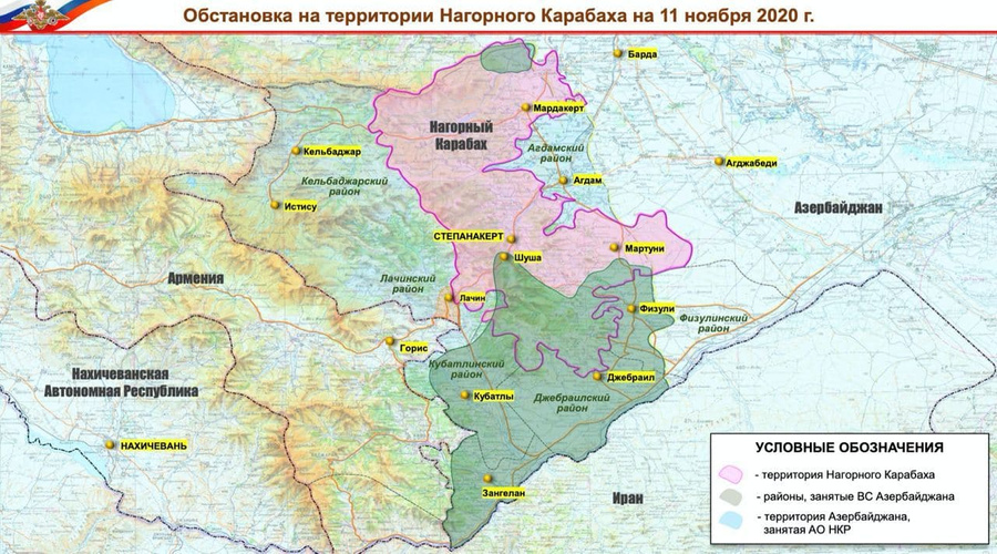 Карта © Минобороны РФ