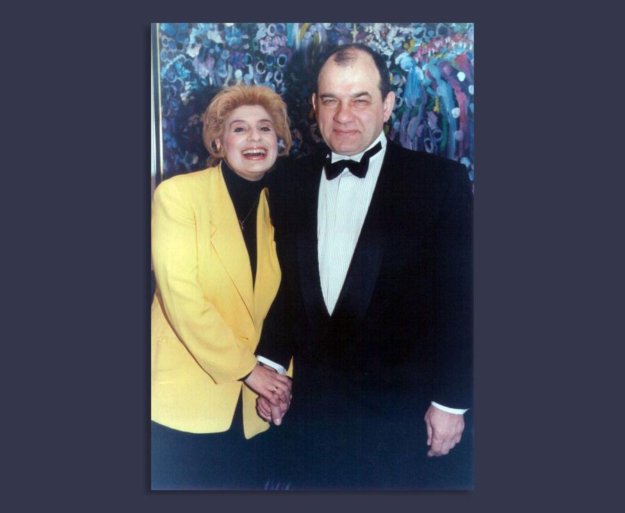 Анжела Хачатурьян и Владимир Арцибашев © Из личного архива Хачатурьян