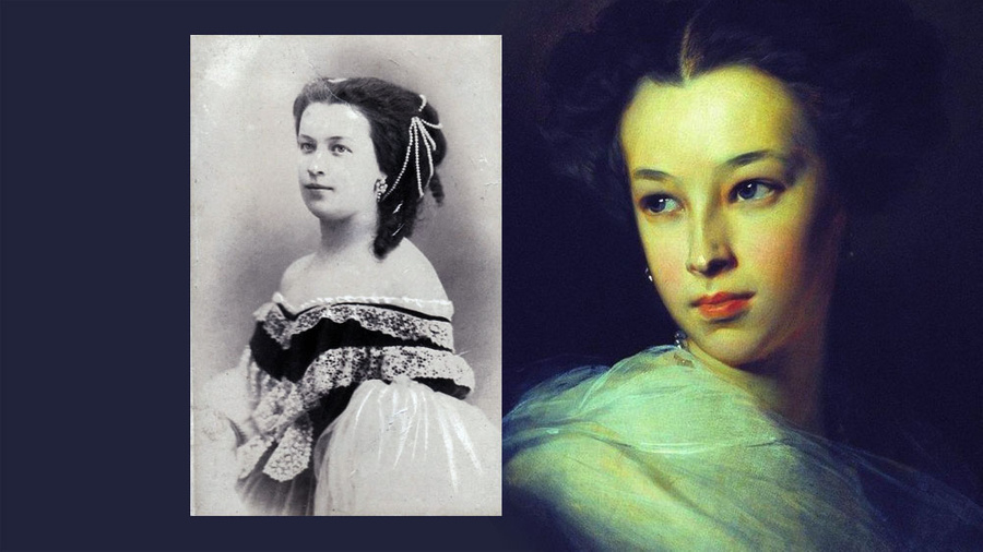 Наталья Александровна Пушкина-Дубельт, графиня Меренберг. Фото © Wikipedia