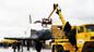 """СССР. 15 ноября 1988 г. Орбитальный космический корабль """"Буран"""" после приземления. Фото © ТАСС / Кузьмин Валентин, Пушкарёв Альберт"""