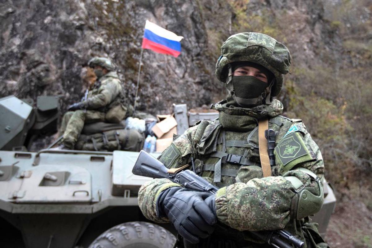 <p>Российские миротворцы в Нагорном Карабахе. Фото © ТАСС / Станислав Красильников</p>
