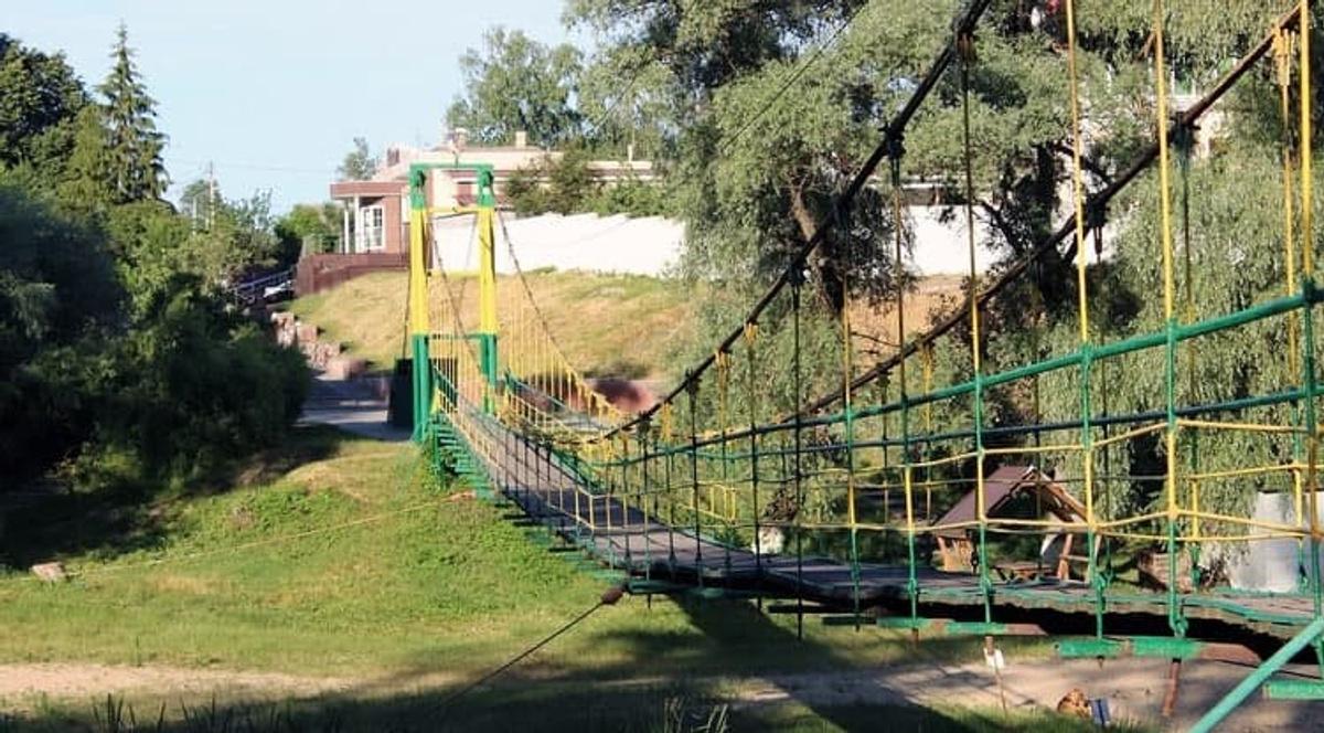 Изначальный вид моста. Фото © Telegram / t.me/belgorod01