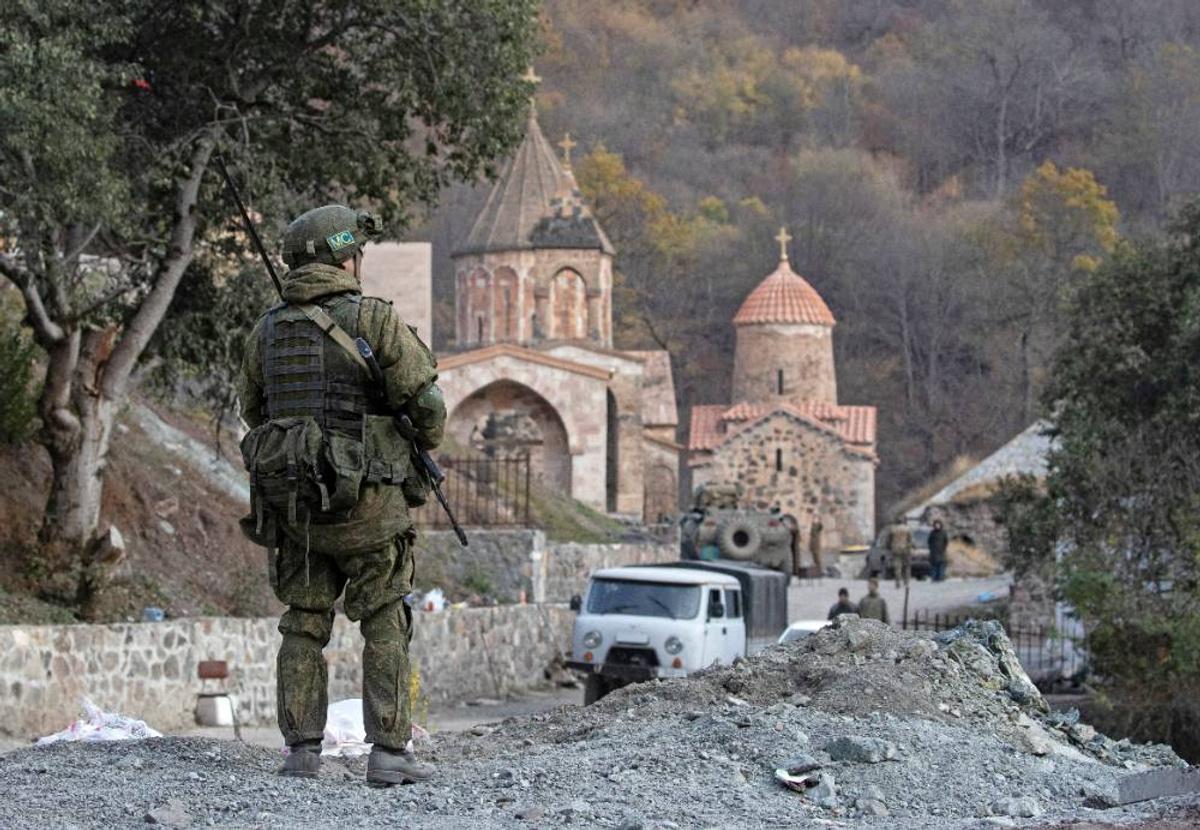 Бои вКарабахе неудалось остановить ксередине осени  из-за Армении— Путин