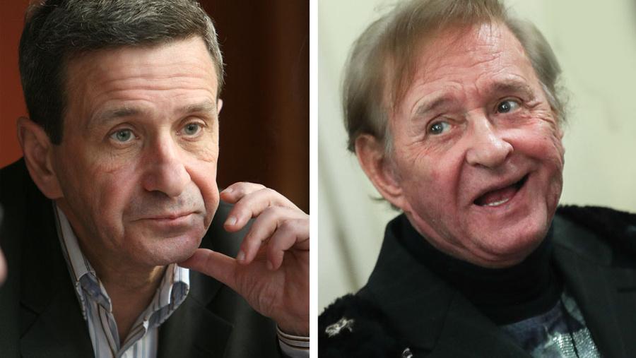 <p>Борис Смолкин и Роман Виктюк. Фото © ТАСС / Шарифулин Валерий, Юрий Самолыго</p>
