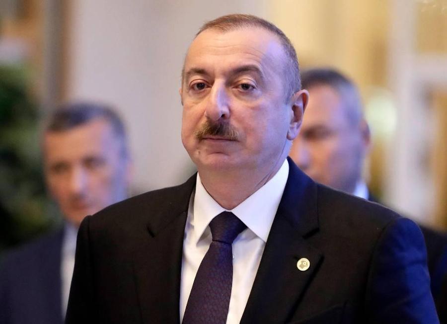 <p>Ильхам Алиев. Фото © ТАСС / Михаил Метцель</p>