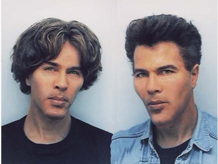 Близнецы в 1990-х. Фото © Wikimedia Commons
