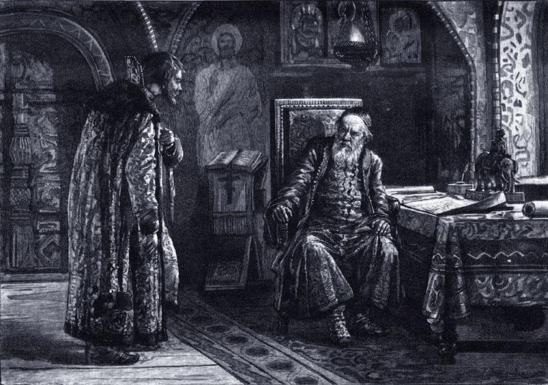 Свидание Скопина-Шуйского с Василием Шуйским в Москве. Фото © Wikipedia