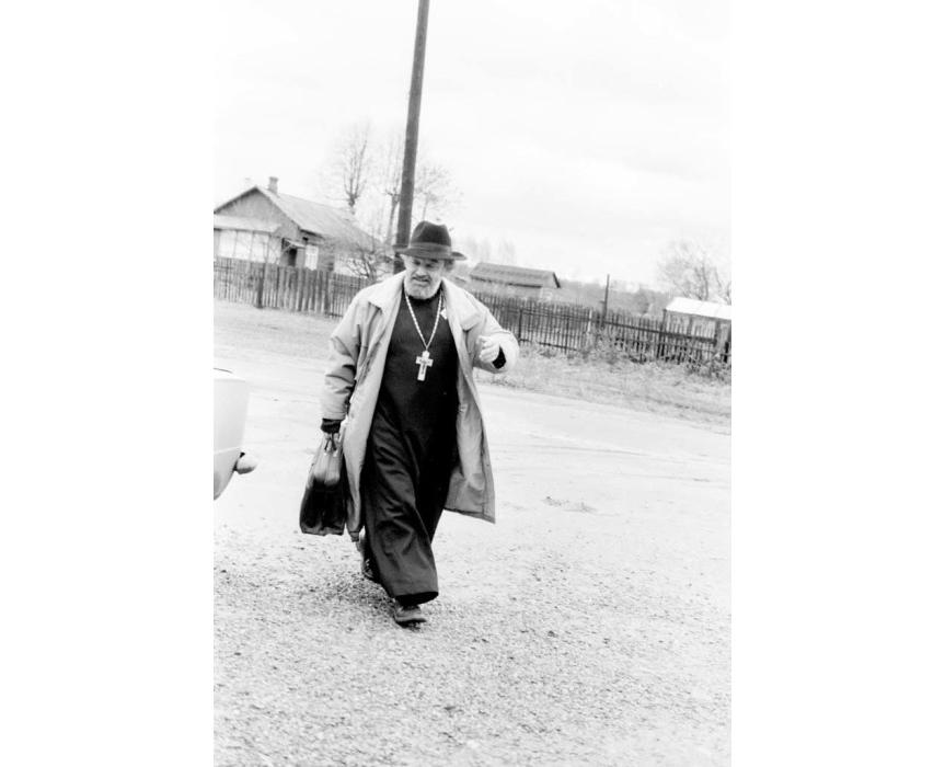 Протоиерей Александр Мень, 1989 год. Фото ©kulturologia.ru