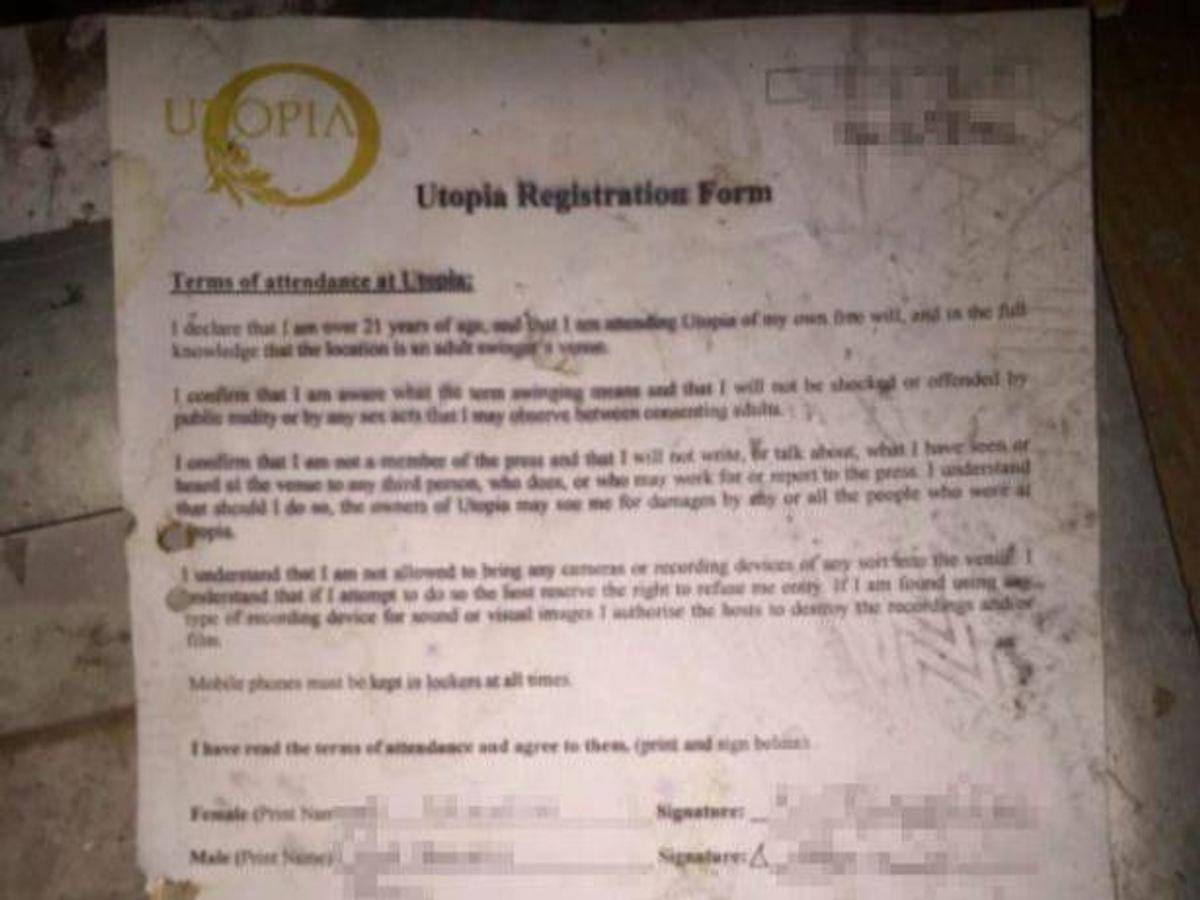 Регистрационная форма. Фото © Caters News