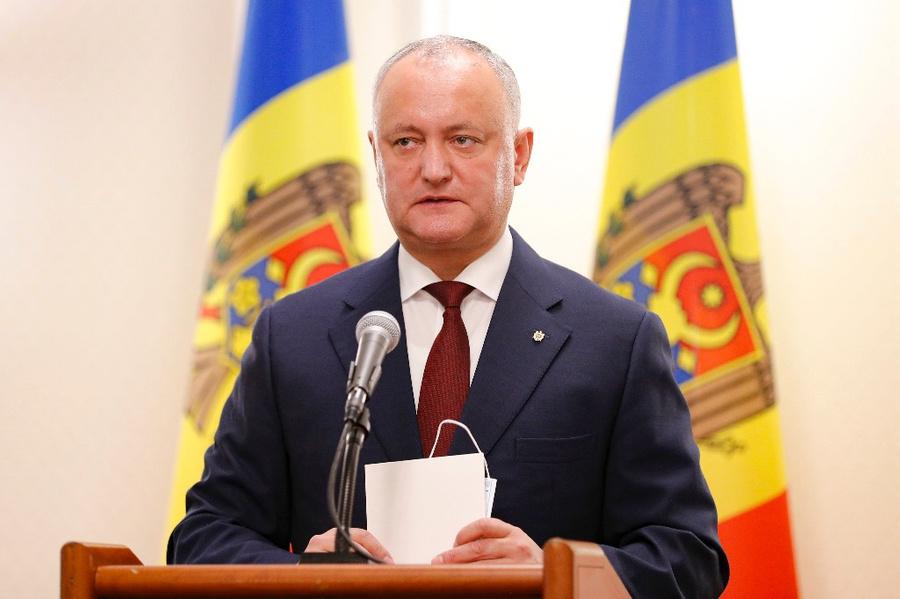 <p>Действующий президент Молдавии Игорь Додон. Фото © ТАСС / AP Photo / Roveliu Buga</p>