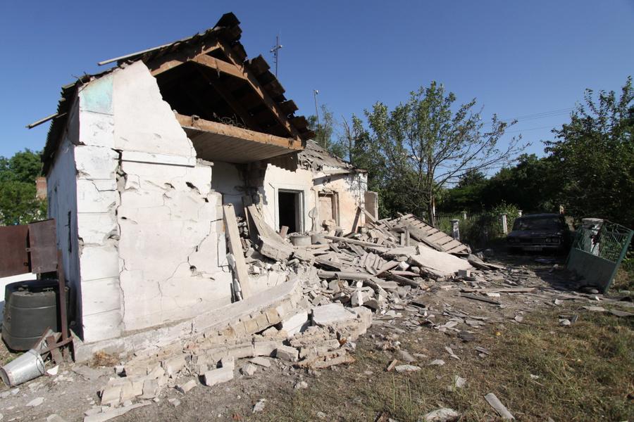 <p>Донецкая область. Архивное фото © ТАСС / Валентин Спринчак</p>