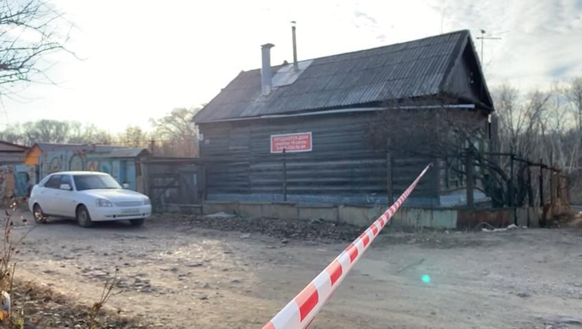 <p>Дом, где было совершено преступление. Фото © LiFE</p>