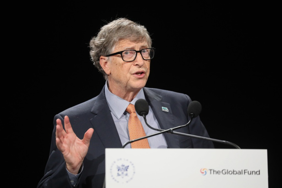 <p>Основатель Microsoft Билл Гейтс. Фото © ТАСС / EPA / LUDOVIC MARIN</p>