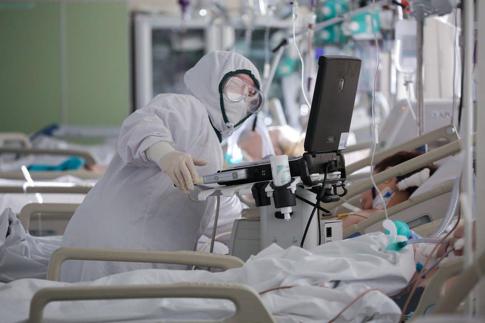 Собянин: Заболеваемость ковидом в Москве снизилась в пять раз по сравнению с пиком